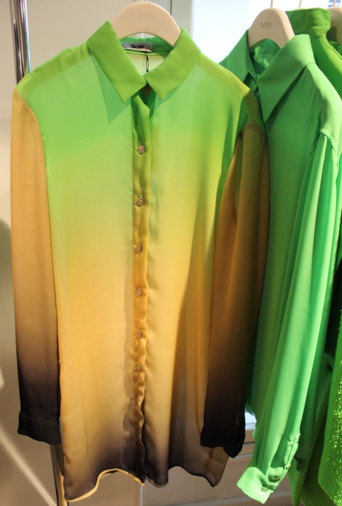 monsieur-j:  Acne Fall 2012 Shirt
