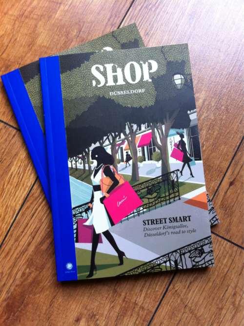 Just got my copies of SHOP Dusseldorf Magazine. Helsinki cover coming soon!