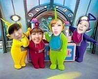 2NE1 Teletubbies ~ ~