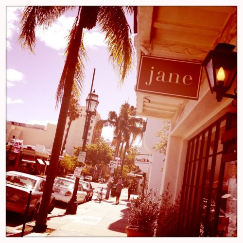 Lunch at Jane in Santa Barbara.