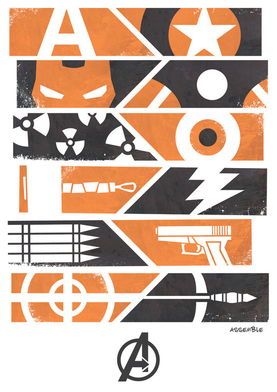 hey-hero:  Avengers Assemble on society6