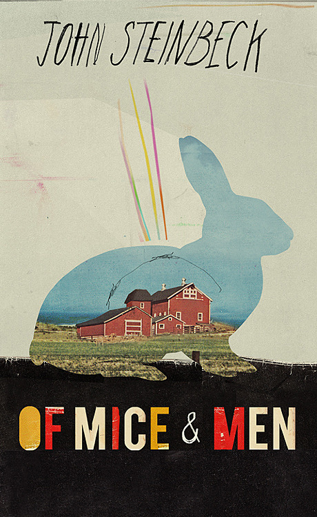 The Best Reason to Reread the High-School Classics | Of Mice and Men by John Steinbeck. Cover by Kathryn Macnaughton.