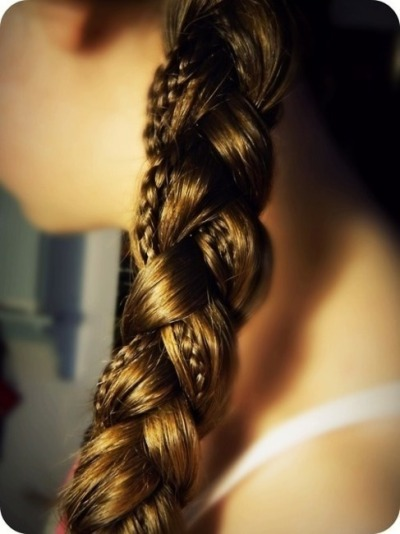Rock the braids.