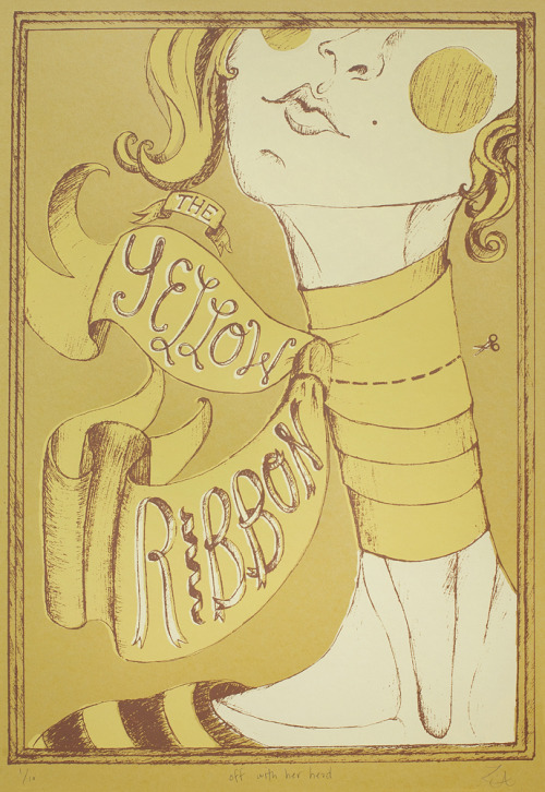 Print based on head-spinning tale of the Yellow Ribbon.