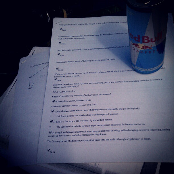 Exams! LET'S DO THIS! (Taken with instagram)