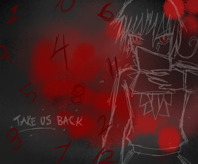 """Take us back!"" Just a quick fanart of HetaOni since I've been into it lately."