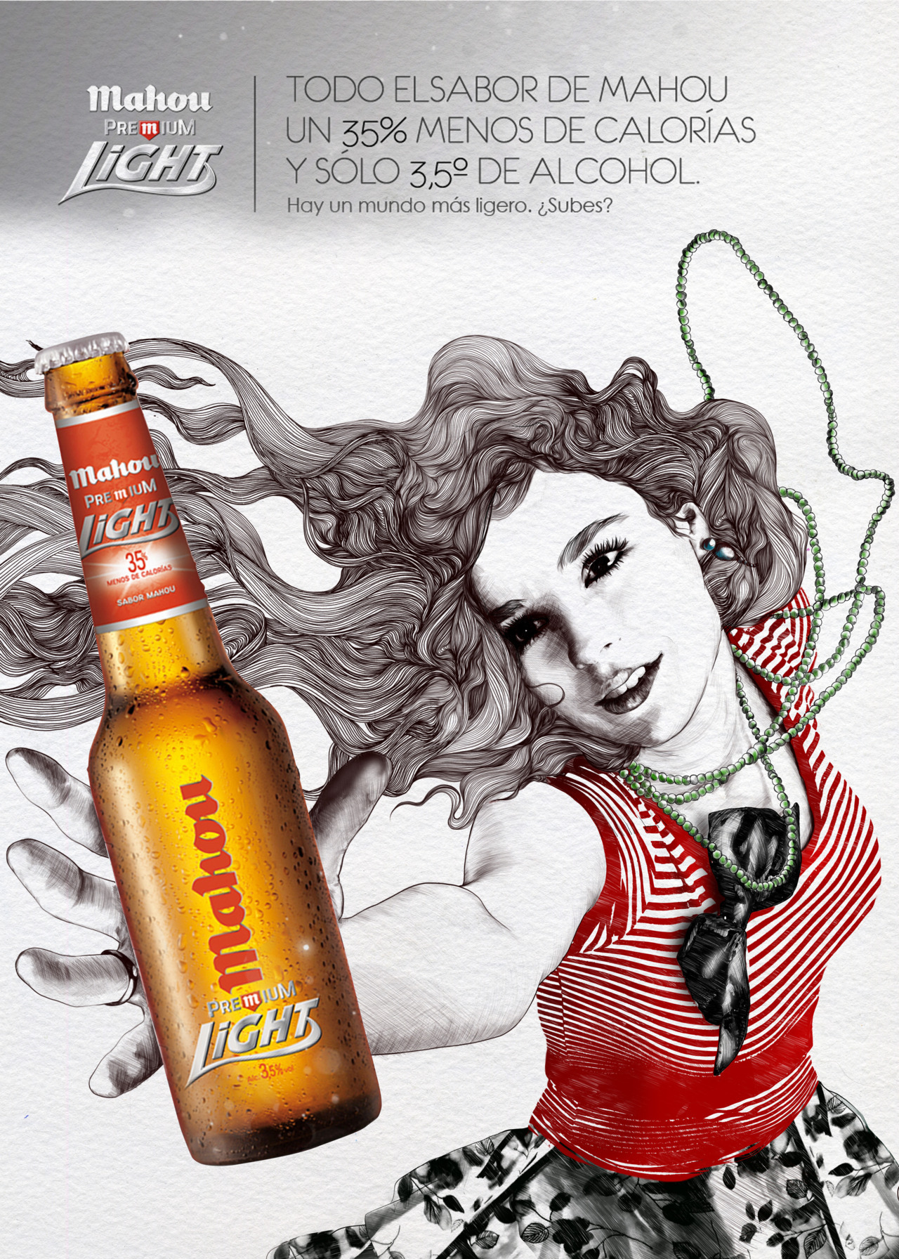 PROJECT/ LIGHT CLIENT/ MAHOU PREMIUM LIGHT AGENCY/ EL LABORATORIO. 2010