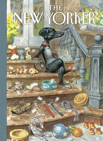 "This week's New Yorker Cover: ""Tag Sale"" by Peter de Sève"