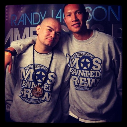 @myronmarten Creator of @worldofdance & @moswantedcrew w/ @tk_nguyen WOD Host & World Renowned Brand Spokesperson #moswantedcrew #mdubgang #worldofdance  (Taken with instagram)