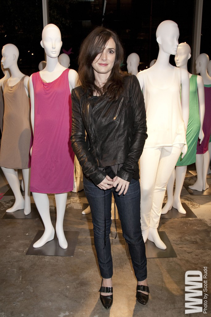 womensweardaily:  Winona Ryder in Loomstate 321  and Rogan.