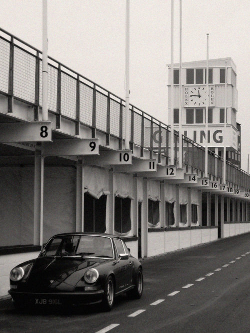coolerthanbefore:  Porsche 911 at Goodwood.