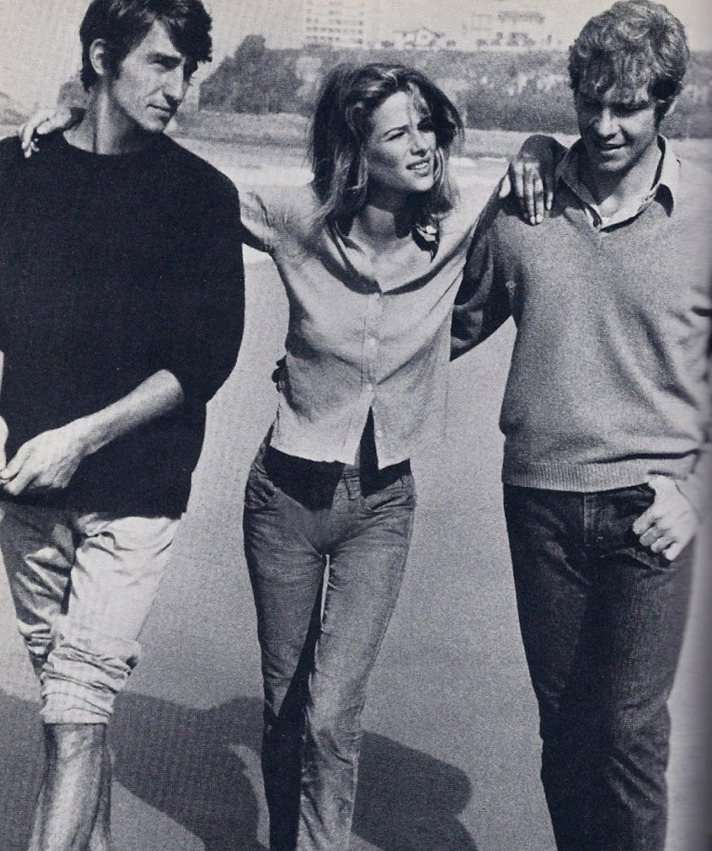 T is for Tomboy Style Charlotte Rampling channels the classic, effortlessly cool mash-up.
