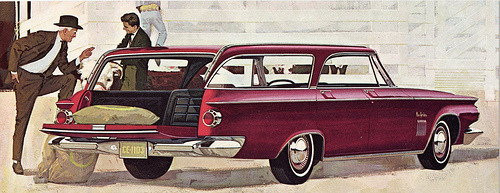 1963 Chrysler New Yorker Town & Country Wagon (by aldenjewell)