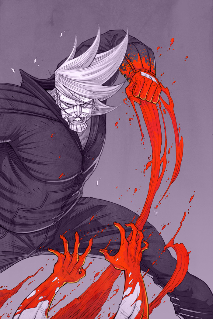 Luther Strode Pin Up by Tradd Moore / Blog & Felipe Sobreiro / Website