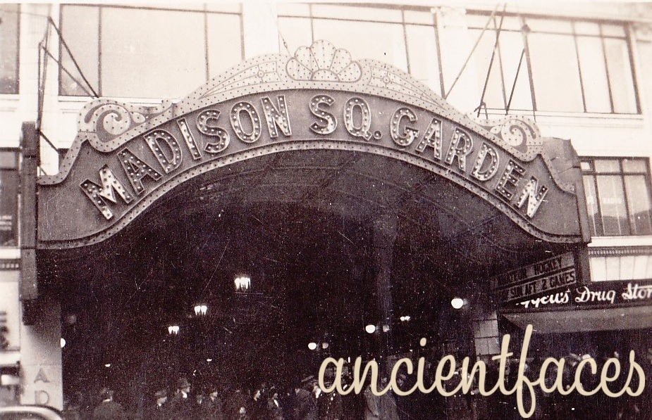 Ancientfaces Photos Of The Past Madison Square Garden 1930 S Ny The Madison