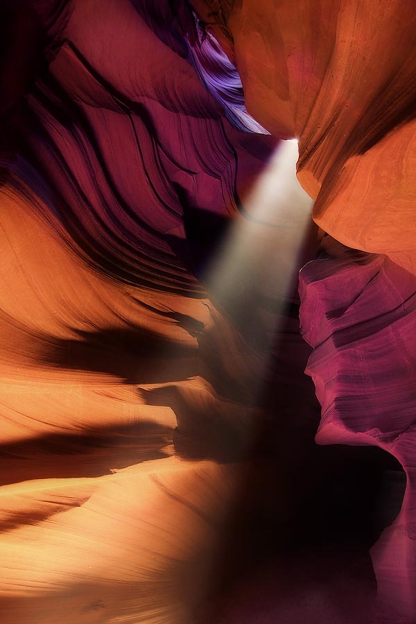 weandthecolor:  Light in Antelope Canyon Breathtaking beautiful nature photography of the Antelope Canyon by Amador Funes.