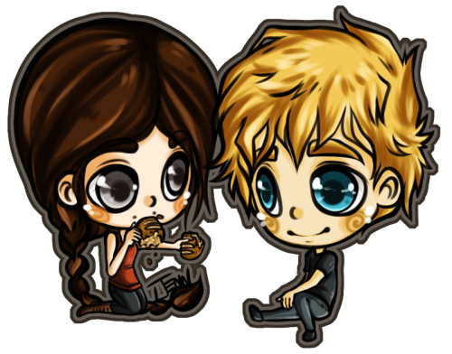 missmert:  Peeta & Katniss (Commission for Jessa)