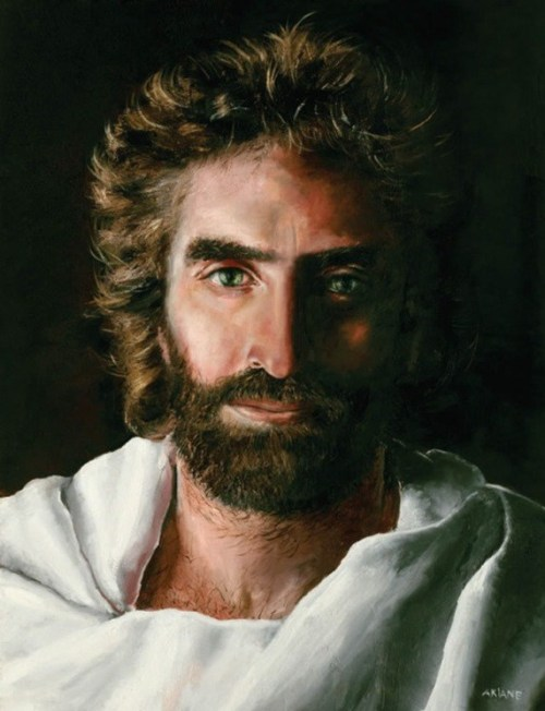 "This is REALLY what Jesus looks like. ""Heaven is for Real"" read it."