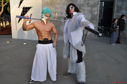 Fanime 2011 Living Ichigo: My Grimmjow cosplay, with a Coyote Starrk cosplayer Website: http://www.livingichigo.com/ Facebook Fan Page: http://www.facebook.com/LivingIchigocosplays YouTube: http://www.youtube.com/user/LivingIchigo World Cosplay: http://worldcosplay.net/member/LivingIchigo/