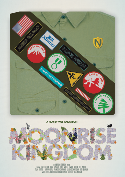sparklesandpretending:  beautyliesinmovieposters: Moonrise Kingdom alternative movie poster designed by Matt Needle/  needledesign
