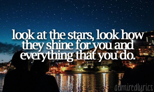 admiredlyrics:  Yellow - Coldplay