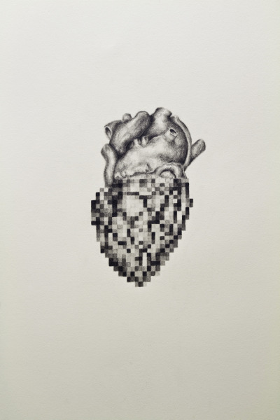 andyvandinh:   Distorted & Overused, 2012 30'x22' graphite on BFK Rives Andy Van Dinh