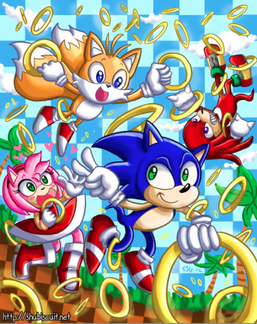 shupie:  Sonic and friends!
