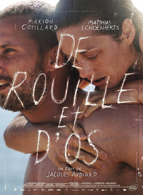 "poster for ""Rust and Bone"", competing at Cannes this year"