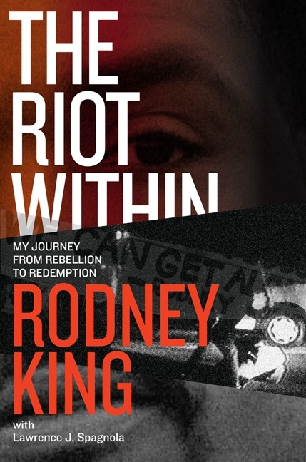 Come out to hear Rodney King talk about his new book, The Riot Within at the Schomburg-Tuesday, April 24.