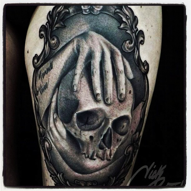 #inked #inkedmag #tattoo #tattoos  of the day #art #culture #style #skull (Taken with instagram)