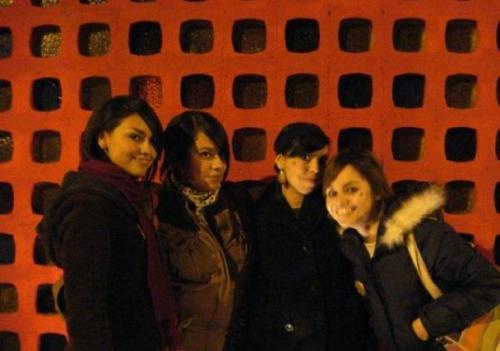Quiero regresar a ese día…We were so young haha… winter 2008?