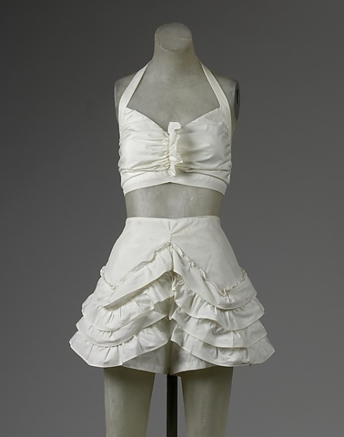Two-piece bathing suit | c. 1944