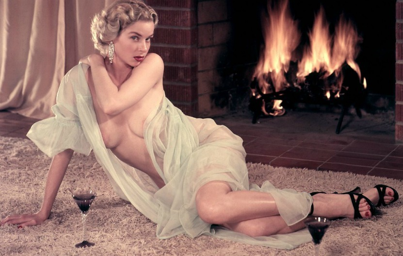 Eve Myer  Playmate of the month June 1955, Playboy magazine