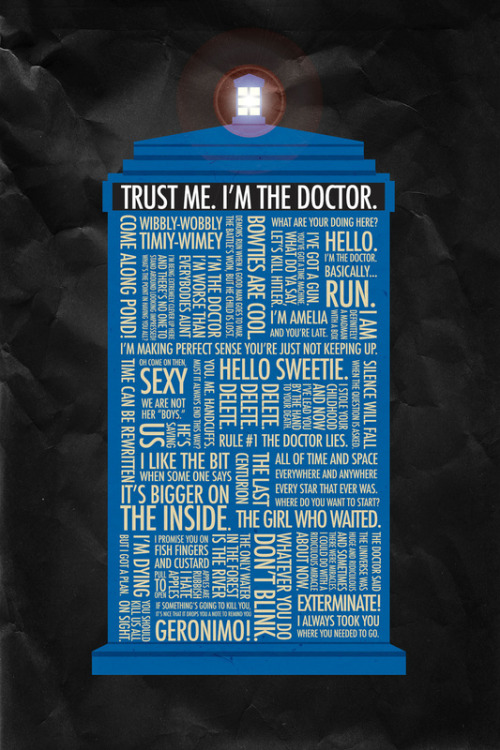 Doctor Who by Luke Eckstein