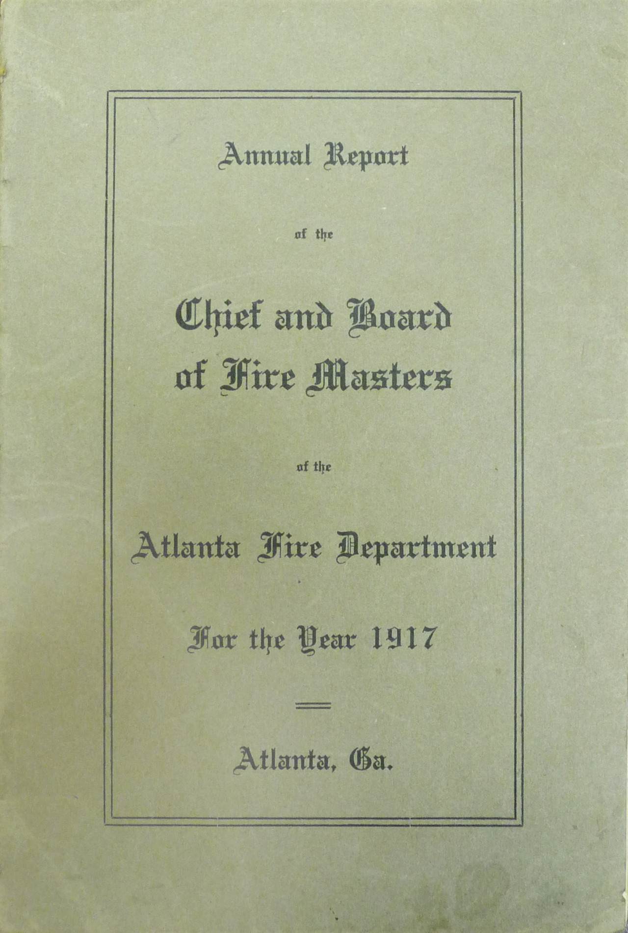 The Great Atlanta Fire of 1917 is over, but the struggle to rebuild has just begun. Atlantans are slowly beginning to comprehend the devastation. Over 300 acres and 1,938 buildings were destroyed. Property loss amounted to $5,500,000 (over $92,000,000 today). A little over half of the damage was covered by insurance. Almost 80 percent of the buildings lost had wood shingles. The fires will continue to smolder the rest of the week. Miraculously, only ten injuries were reported and no lives were lost in the fire. This concludes the Great Atlanta Fire of 1917 Live Blog Event. We hope you have enjoyed this experience. This event was edited by Trevor Beemon, Manager of Digital Communications at the Atlanta History Center. All of the images and audio clips included in this event are courtesy of the Kenan Research Center at the Atlanta History Center. Special thanks to Sue VerHoef, Archivist; Paige Adair, Manager of Reprographic Services; Heather Thayer Culligan, Collections Manager; and Melanie Stephan, Senior Archivist, for their help and support. Tune in May 23rd when guest blogger Sue VerHoef will address your questions about the fire, and explain the impact it had on our city.