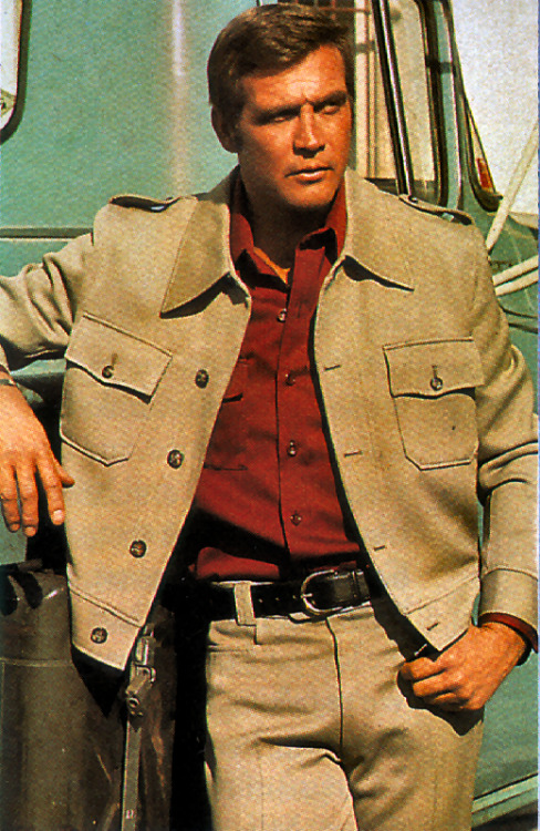 Today is Lee Majors' birthday.  RESPECT.
