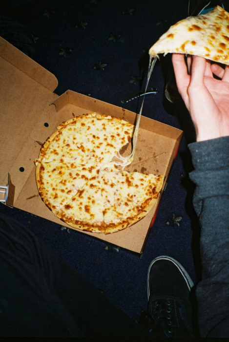 cheesy pizza- drooling? then you'll like these:- http://yummmaystuff.tumblr.com/