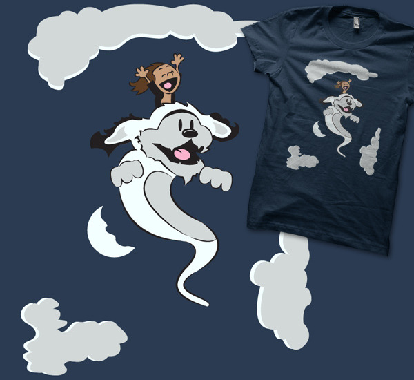 """A Neverending Friendship"" is now available at 604republic! http://www.604republic.com/prod/neverending_friendship_t_shirt"