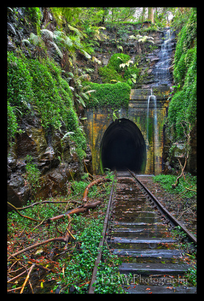 HDR Tunnel by Barrydw on Flickr.