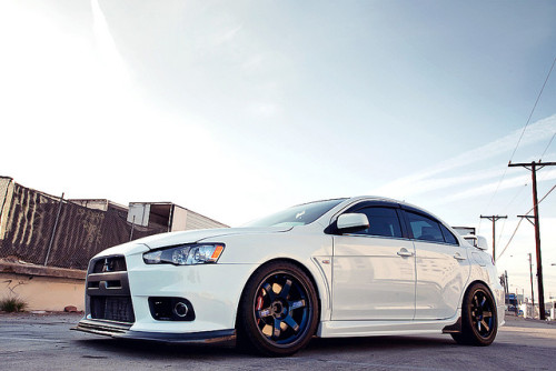 Mitsubishi Lancer Evolution X's - Tensfor Karlellis Photos via Ryan Gates, Faiz Rahman, Chris Hoare, Jason Luong, & Ginash George