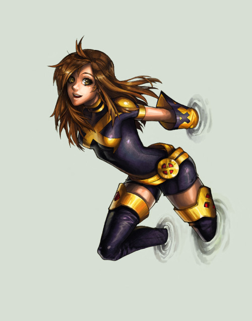 mikeballan:  Shadowcat This new look is awesome, its like Rouge's old 90's meets anime..!