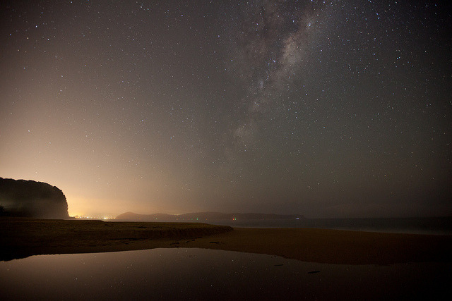 Pearl Beach and the Milky Way.. by MadSpacePlane | pondingphotography.com on Flickr.