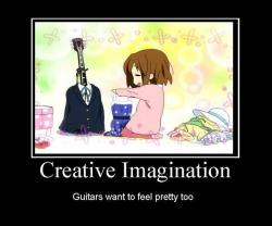 ~guitar want to feel pretty, too~