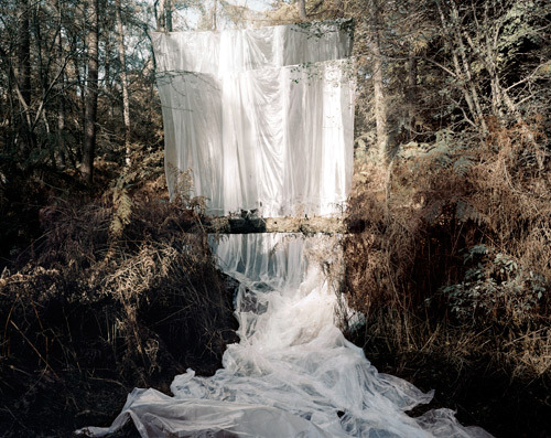 anthropologie:  I love artist Noemie Goudal's interpretation of falling water. You can see more from her series Les Amants here.
