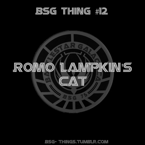 BSG Thing#12 - Romo Lampkin's cat