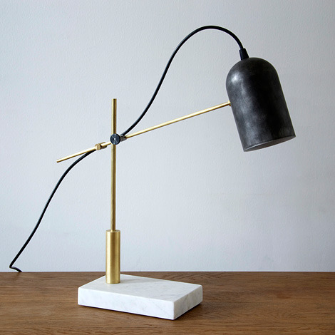 cosascool:  The Catherine table lamp, by design studio Castor
