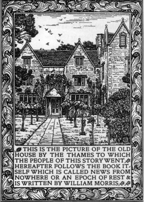 Kelmscott Manor, News From Nowhere, William Morris