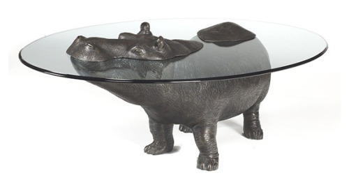 marcusto:  ramonperez:  tacky awesome. i kinda want one. aros:  Hippopotamus Table   We need this in the studio
