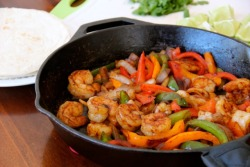 Shrimp Fajitas click image for recipe