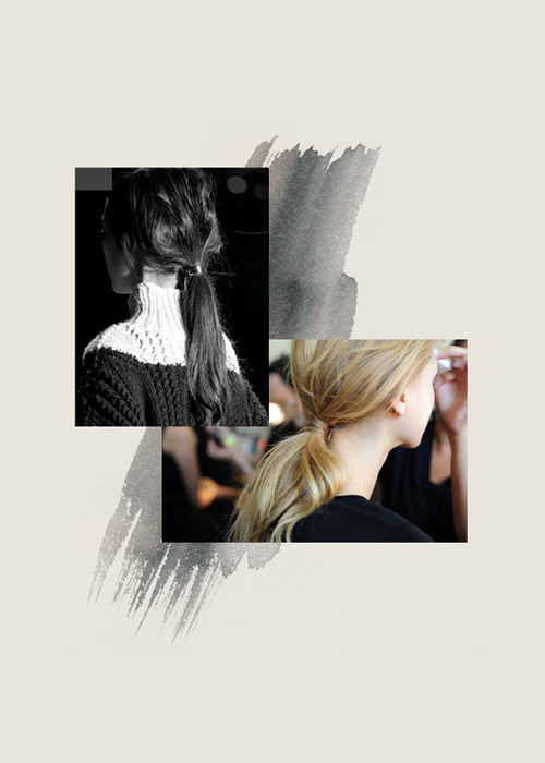 From my scrapbook, Ponytail collage Dries and Unknown photo Blog Post: Wild Tales « Collage by Decade Diary